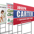 Double Sided Corrugated Plastic Signs