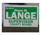 Corrugated Plastic Election Signs