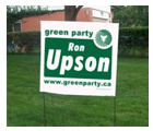Election & Campaign Bag Signs